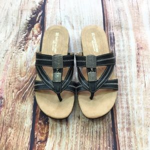976a671286ea Naturalizer black leather sandals